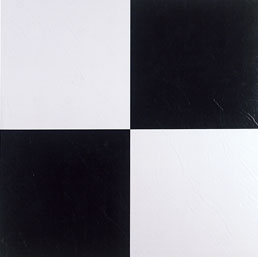 Black and white Vinyl Tile