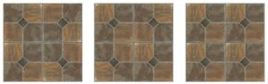 sticky back floor tile