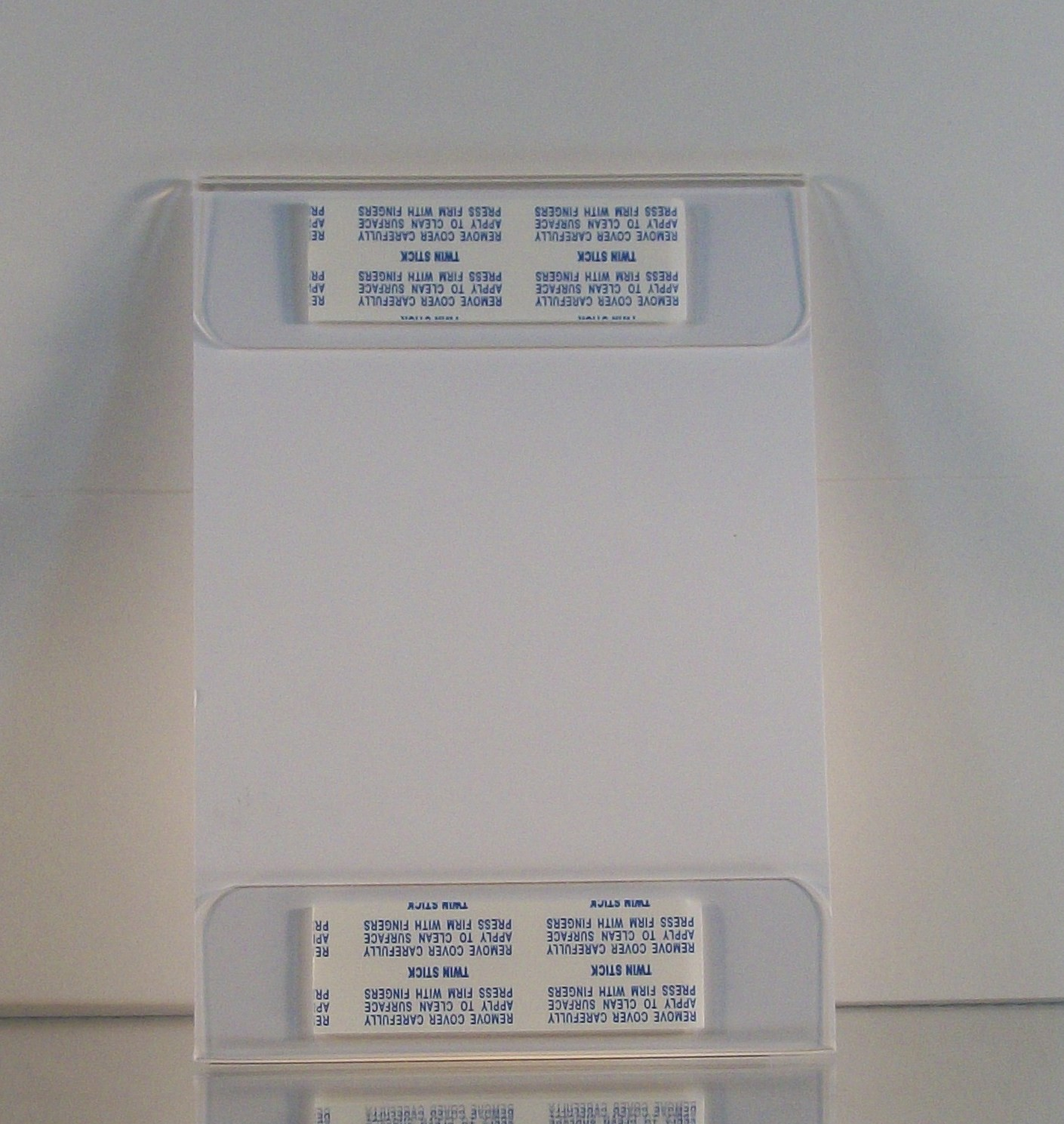 Plastic Wall Mount Sign Holder Acrylic Document Holder