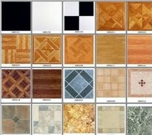 peel and stick vinyl floor tile squares