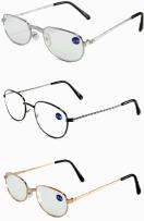 metal frame reading glasses