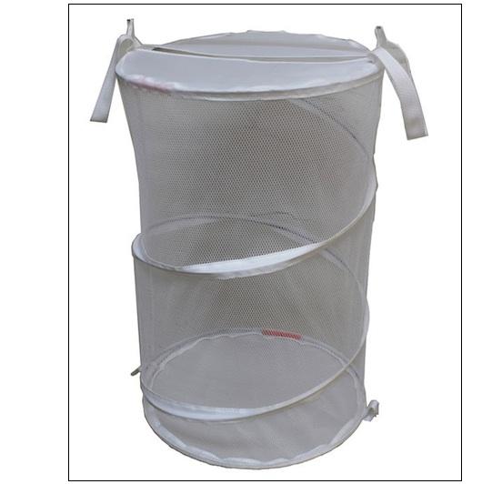 Wholesale Mesh Foldable Laundry Hamper