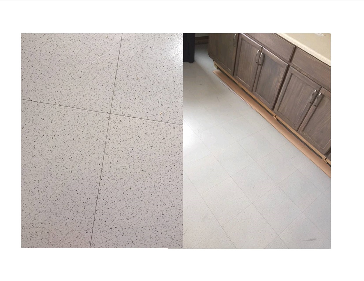 Peel stick floor tile reviews salt pepper garage floor tile dailygadgetfo Choice Image