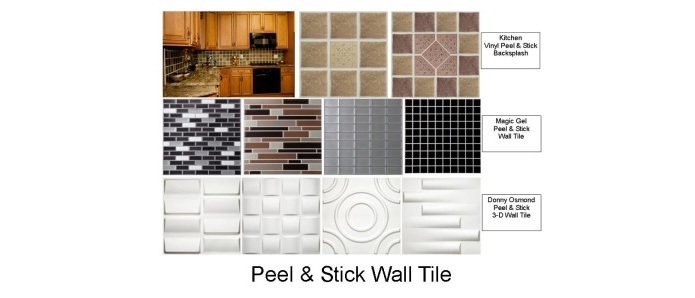 peel & stick wall tile