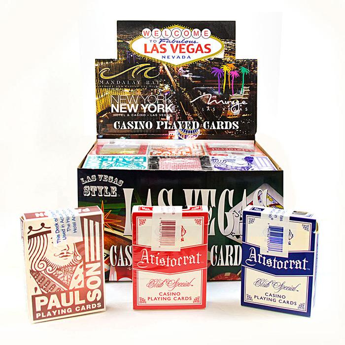Las vegas casino playing cards casino flotante puerto