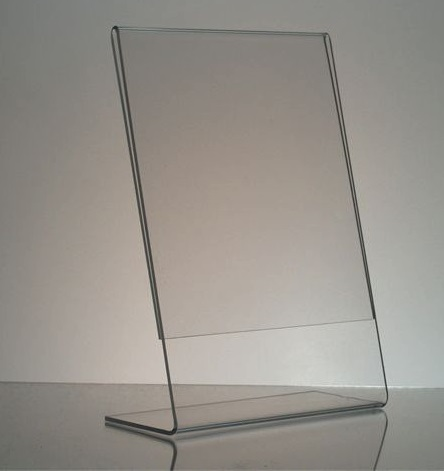 Clear acrylic photo frames
