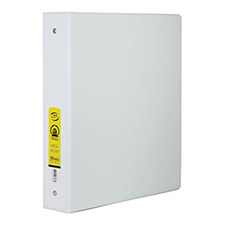 white 3 ring binder mazer wholesale