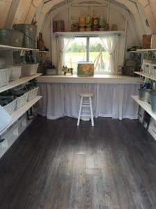 Potting Or Meditation Shed Floor Ideas Mazer Wholesale Inc
