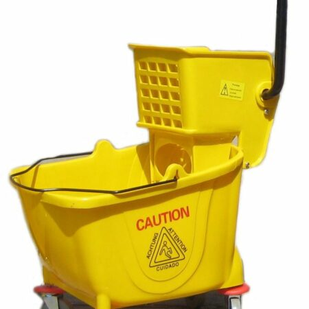 38 quart heavy duty wringer bucket