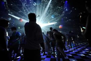 temporary dance floor