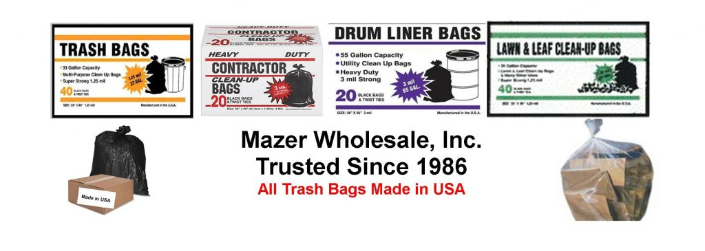 wholesale trash bags-trash can liners-garbage bags