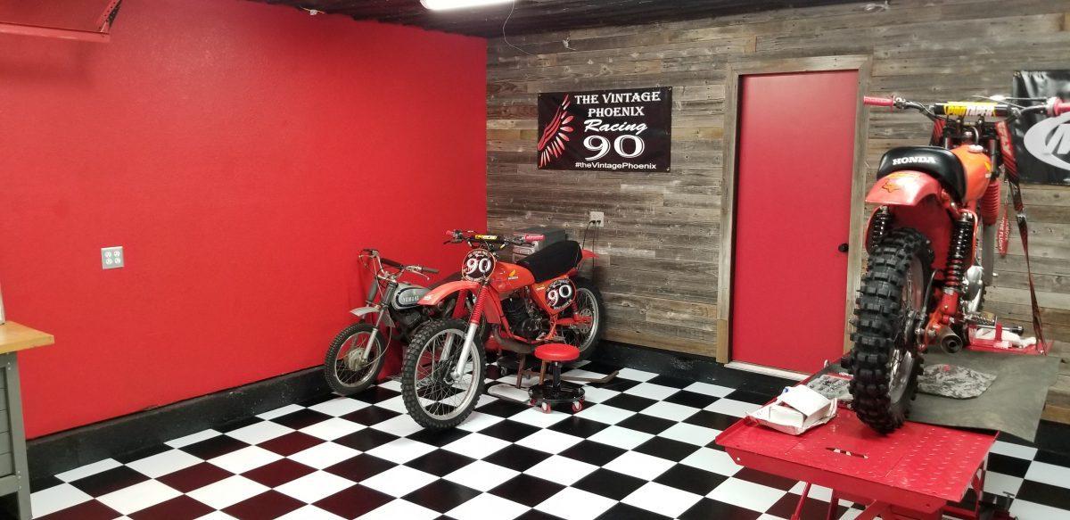 Peel Stick Floor Tile Reviews - Race track garage flooring