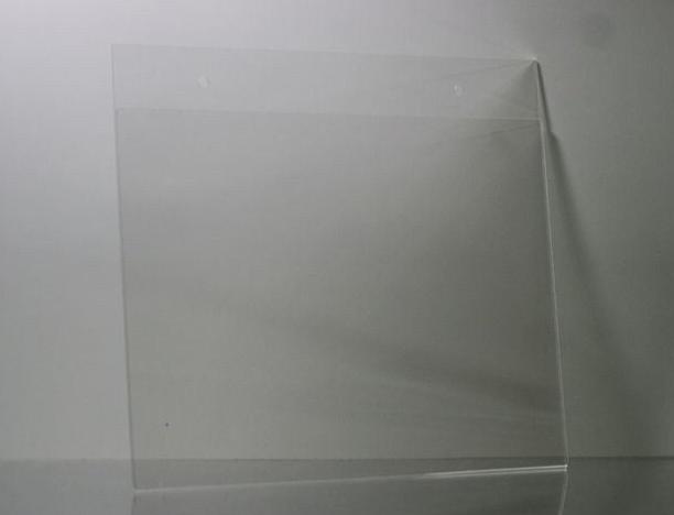 812 x 11 plastic wall mount sign holders horizontal