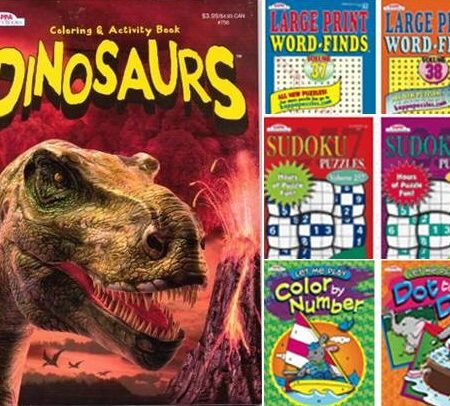 Coloring Books & Puzzle Books