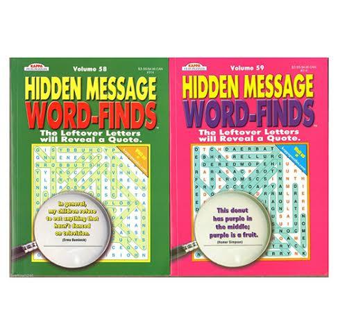 Word Search Game Books - amazon.com