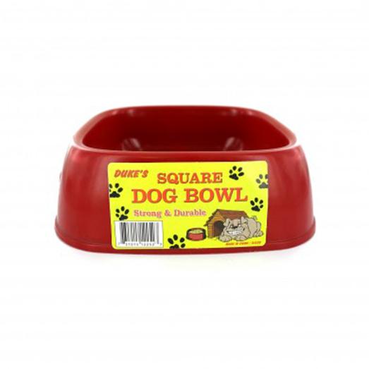 Square Pet Food Bowl