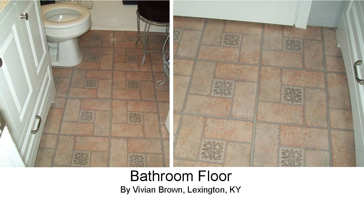 Peel stick floor tile reviews for Happy floors tile reviews