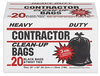 contractor bags wholesale