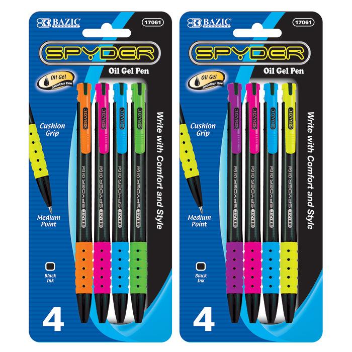 cheap gel pens with cushion grip