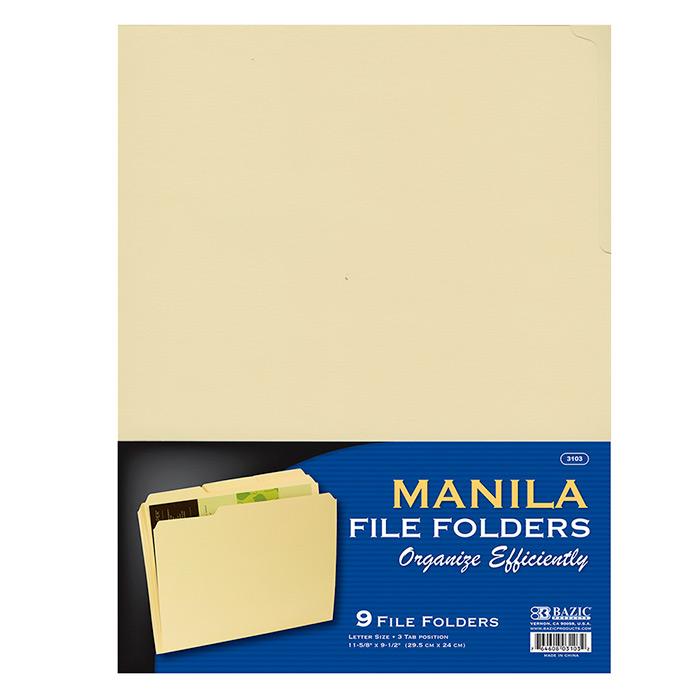 Cheap Manila Folders