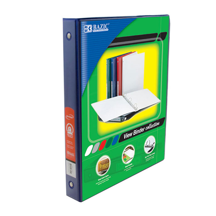 cheap 3 ring view binders wholesale office supply store
