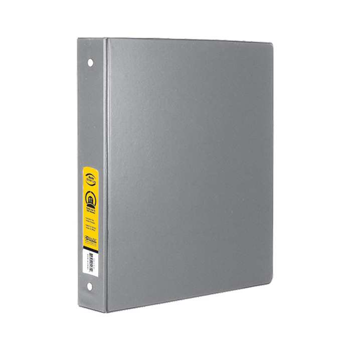gray binders 3 ring bulk school and office supply store