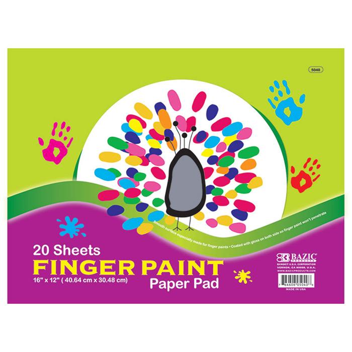 wholesale finger paint pads