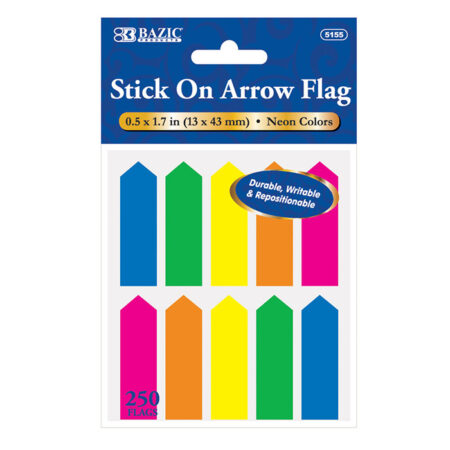 Neon Arrow Flags