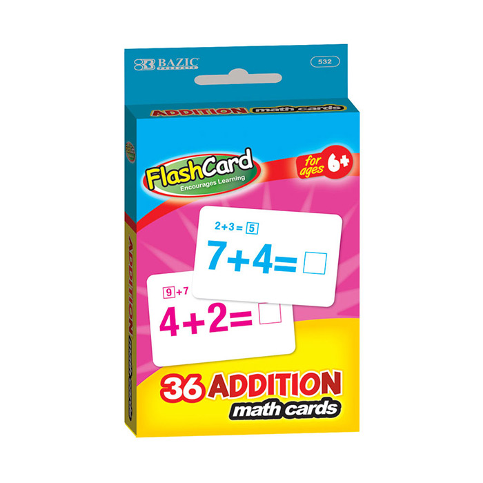 Wholesale Addition Flash Cards
