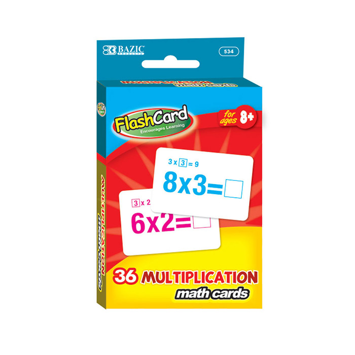 Cheap Multiplication Flash Cards