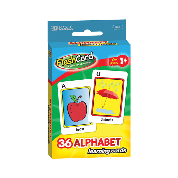 Cheap alphabet flash cards