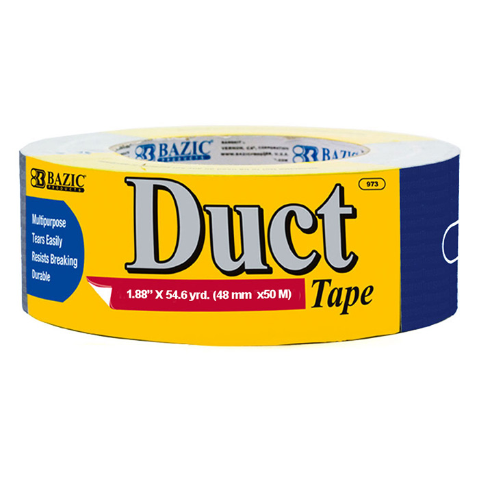 blue duct tape