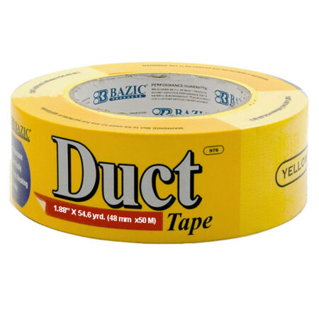 Yellow duct tape