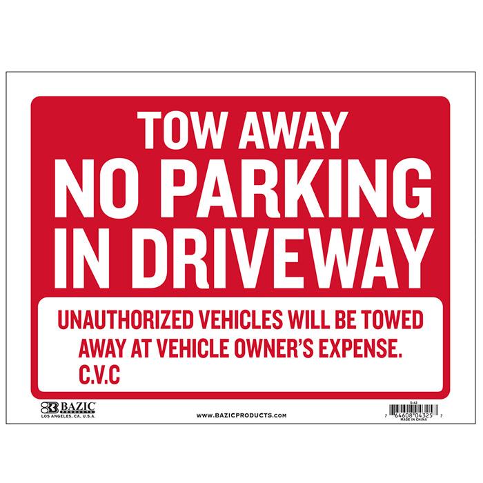 Cheap no parking signs