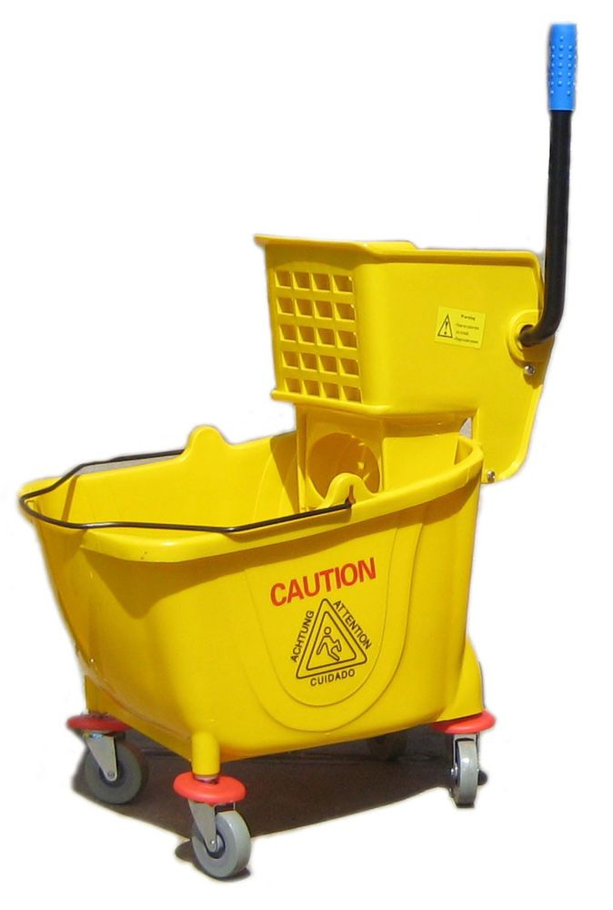 Commercial Mop Wringer Bucket 38 Quart Mazer Wholesale