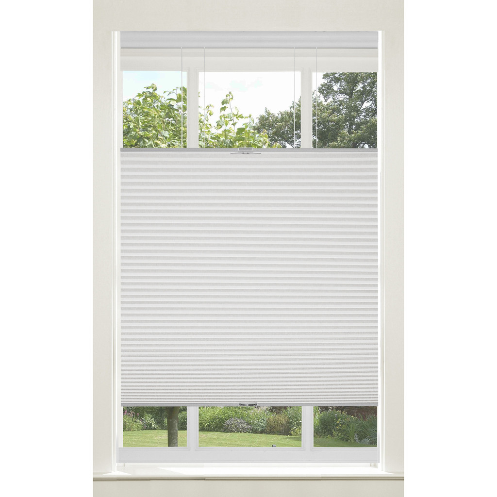 Top Down Cordless Honeycomb Cellular Shade 39x64 White