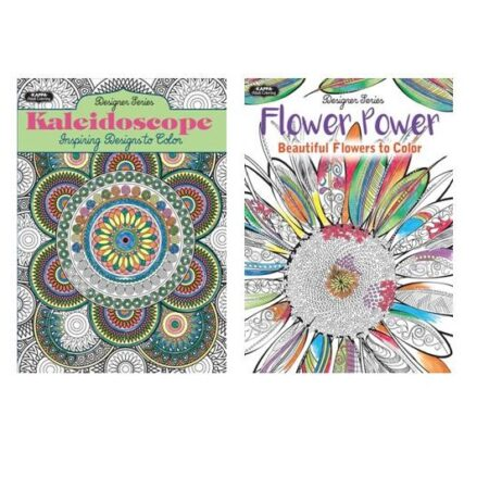 Adult Coloring Books Wholesale Assortment 1