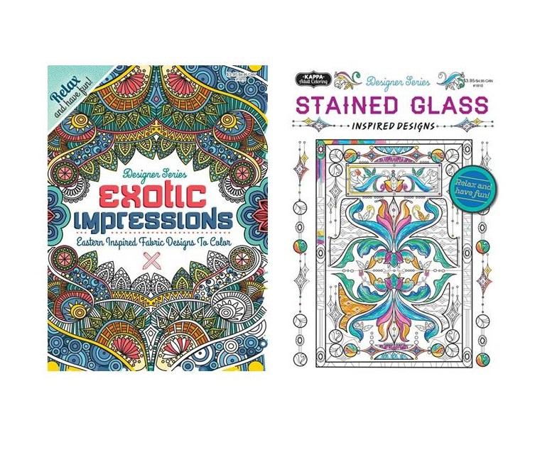 Adult Coloring Books-Wholesale Assortment #2 - Mazer Wholesale, Inc.