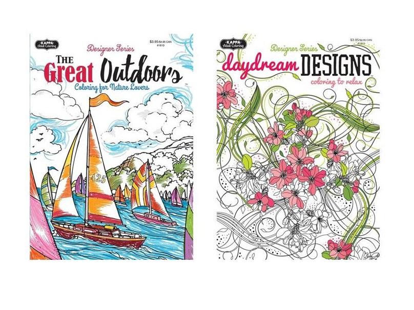 Adult Coloring Books-Wholesale Assortment #4 - Mazer Wholesale, Inc.
