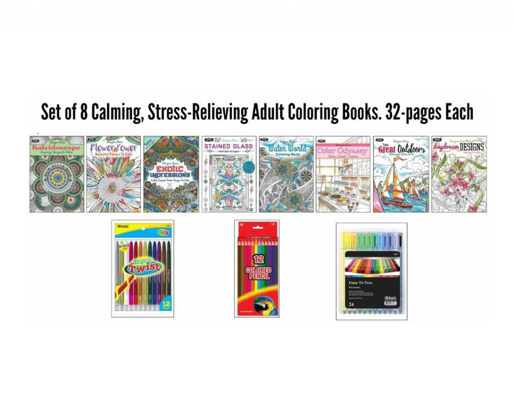 Adult Coloring Book Wholesaler - Bulk Adult Coloring Books ...
