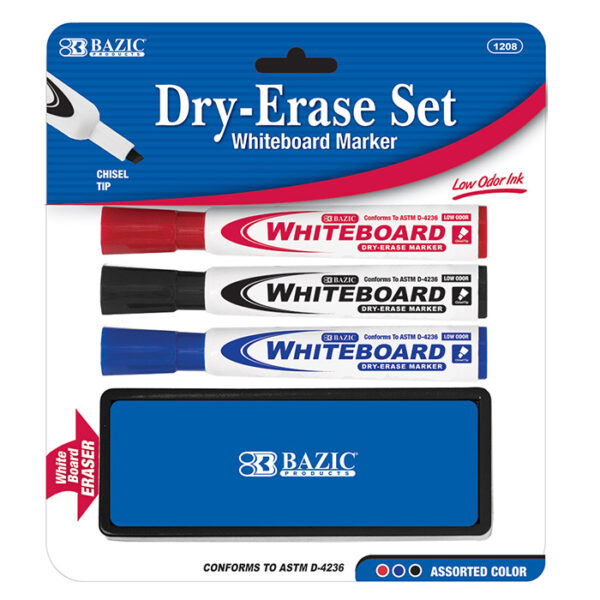 Cheap Dry Erase Markers and Eraser