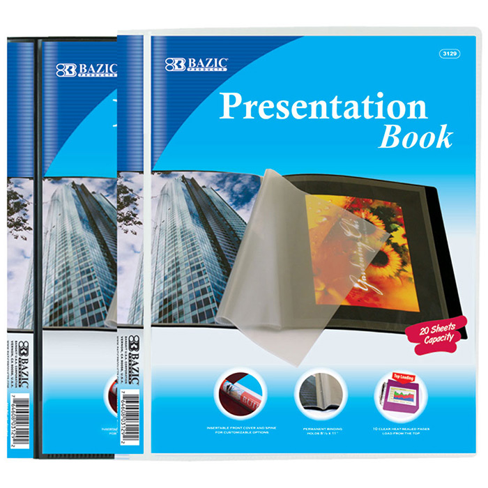 Cheap Presentation Books