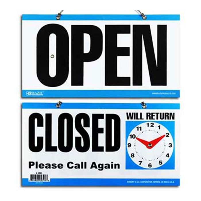 Cheap Open and Closed Store Signs