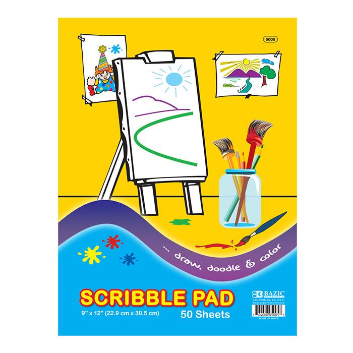 Cheap scribble pads
