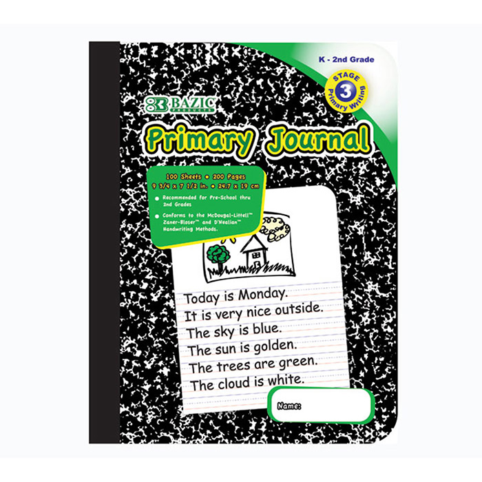 Cheap Marble Composition Books for K - 2nd Grade