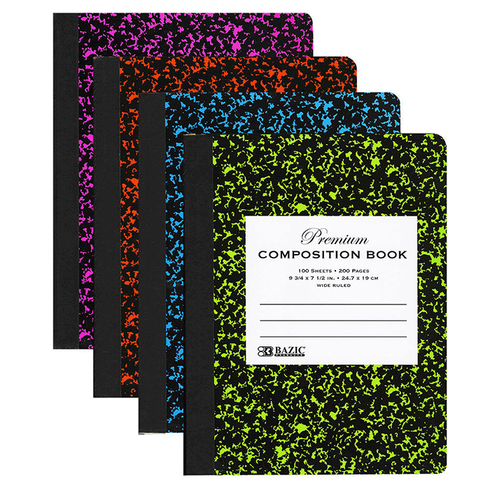 Cheap Marble Composition Books