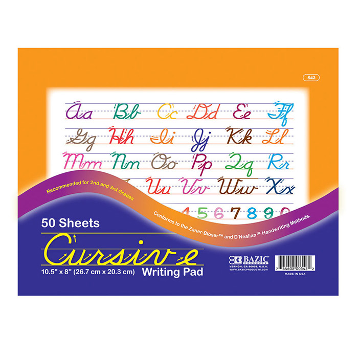 Cheap Writing in Cursive Learning Pad