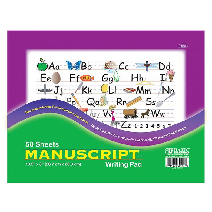 Cheap manuscript writing pad