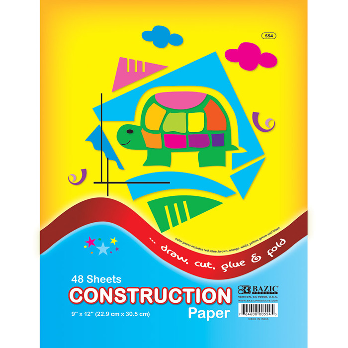 Cheap construction paper