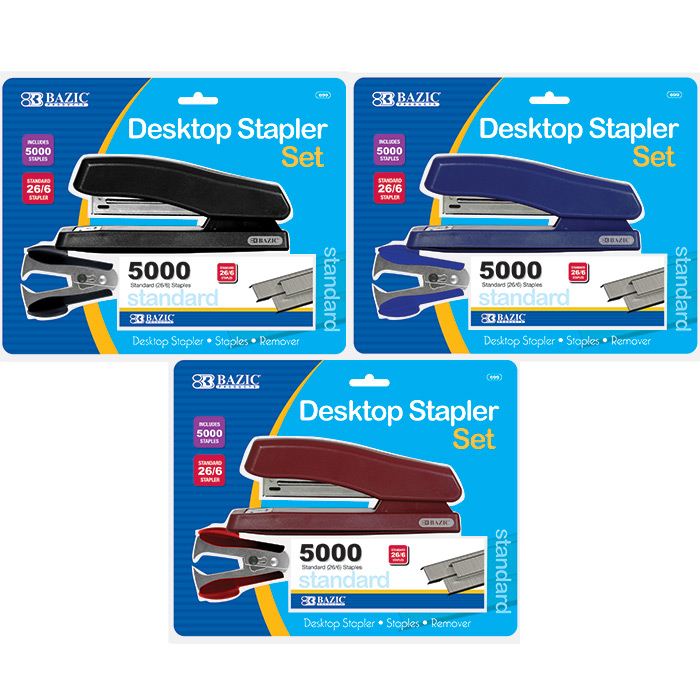 Wholesale desktop stapler set